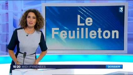 France 3 Midi-Pyrénées - JT 1920 Midi-Pyrénées du 08-12-2015- Feuilleton Soho Solo Gers