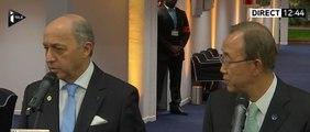 Fabius : «Nous sommes presque au bout du chemin, je suis optimiste»