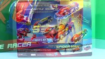 Amazing Spider-Man Mega Battle Racer Gets Attacked By Shark Marvel Comics Toy Spiderman