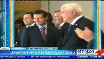 Tribunal Electoral de Panamá levanta fuero penal a expresidente Ricardo Martinelli