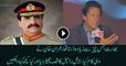 See How Imran Khan Praising GEN Raheel Sharif In India