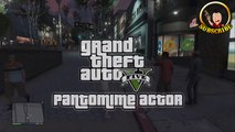 Grand Theft Auto 5 Pantomime Mime Artist Secret Hidden Interactive Easter Egg Gameplay GTA