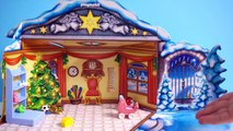 [DAY6] Playmobil & Lego City Christmas Surprise Advent Calendars (with Jenny) - Toy Play S