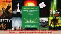 Read  Handbook of Radar Scattering Statistics for Terrain Artech House Remote Sensing Library Ebook Online