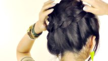 How to Do A Halo MilkMaid Braid Tutorial | Cute Braids Hairstyles | Braided new