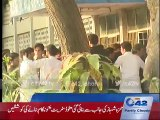 Fight between two groups of students in Punjab University