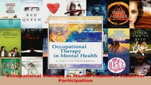PDF Download  Occupational Therapy in Mental Health A Vision for Participation PDF Online
