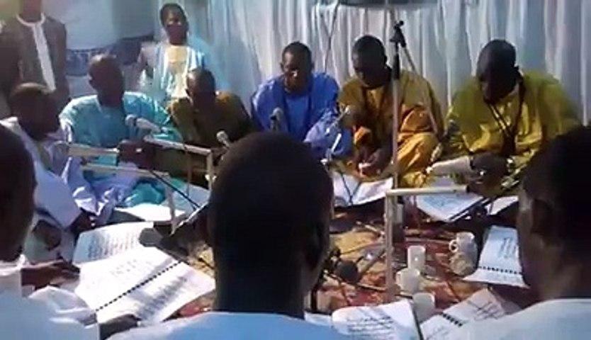 Magal Touba 2015: Khassida Nasrun Minna Lahi (Daaju S. Ibra Gueye)  par Kourel 1 masalikoul Djinane Touba khaira