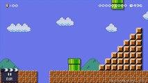 Super Mario Maker: Super Mario Kun Costume All Animations +