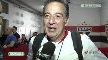 Nasi, vocalista do Ira!, comenta participação na festa de despedida de Rogério Ceni