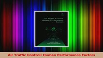 PDF Download  Air Traffic Control Human Performance Factors Download Full Ebook