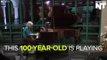 100-Year-Old Woman Plays 100-Year-Old Piano