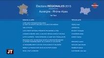 Régionales : Les listes de la région Auvergne-Rhône-Alpes