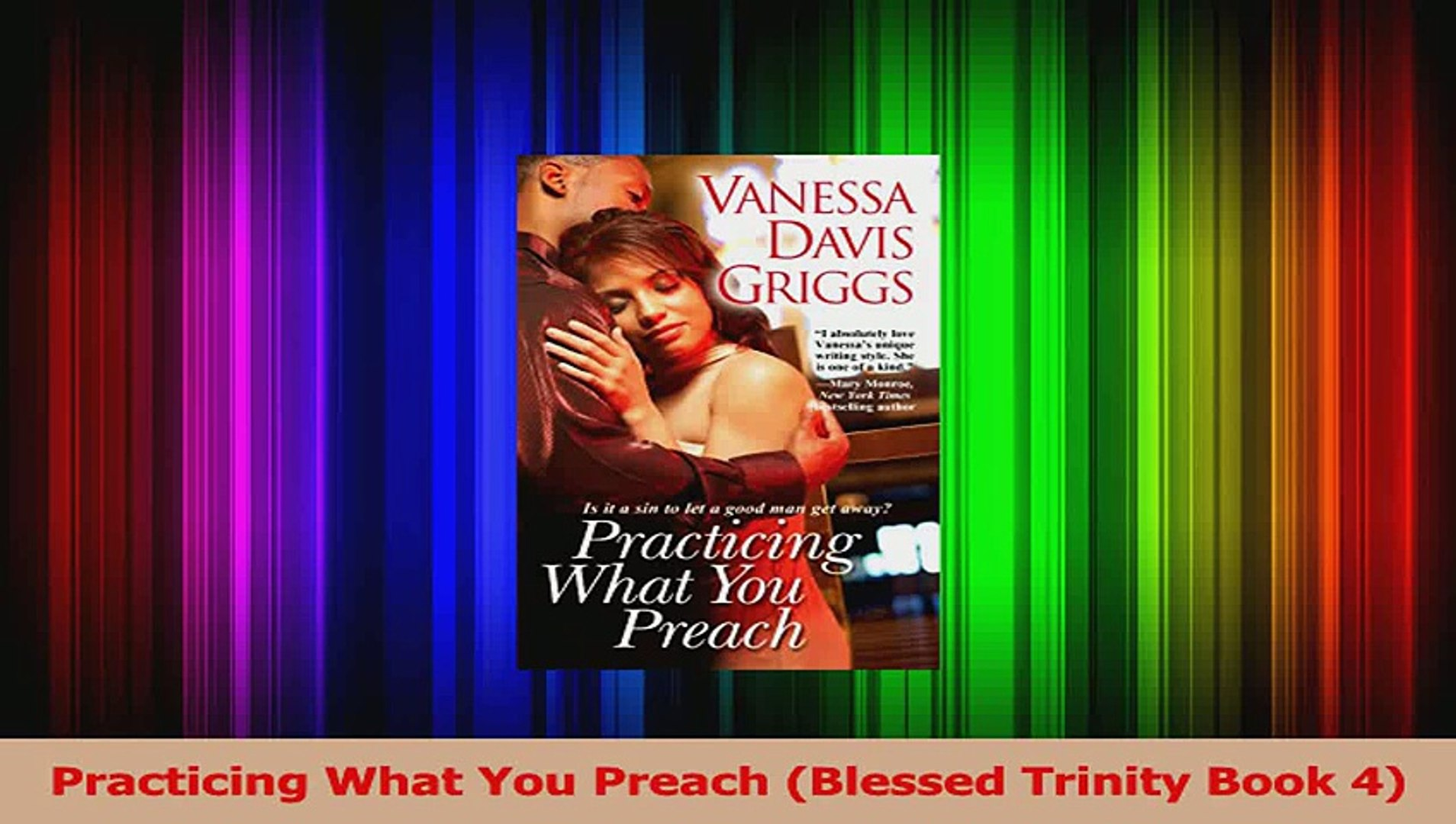 Practicing What You Preach (Blessed Trinity)