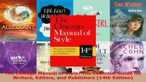 Read  The Chicago Manual of Style The Essential Guide for Writers Editors and Publishers 14th EBooks Online