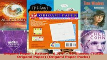 Read  Origami Paper  Pattern  6 34  49 Sheets Tuttle Origami Paper Origami Paper Packs PDF Free