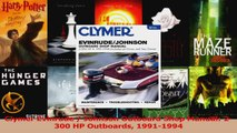 Read  Clymer Evinrude  Johnson Outboard Shop Manual 2300 HP Outboards 19911994 Ebook Free