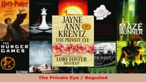 Read  The Private Eye  Beguiled Ebook Free