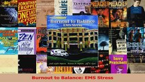 PDF Download  Burnout to Balance EMS Stress Download Full Ebook
