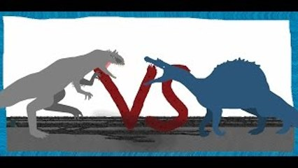 Pivot Battle Arena: Indominus rex VS Spinosaurus