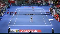 Ana Ivanovic vs Belinda Bencic Highlights HD IPTL KOBE 2015