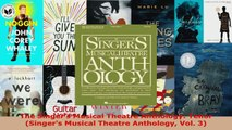 Read  The Singers Musical Theatre Anthology Tenor Singers Musical Theatre Anthology Vol 3 Ebook Free