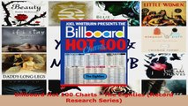 Read  Billboard Hot 100 Charts  The Eighties Record Research Series PDF Free
