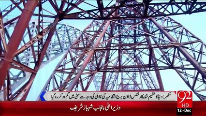 Sukkur Lansdowne Bridge Badhali Ka Shikar – 12 Dec 15 - 92 News HD