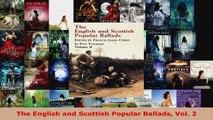 Read  The English and Scottish Popular Ballads Vol 2 EBooks Online