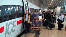 ---[HD] German ICE high-speed trains at Frankfurt Airport -