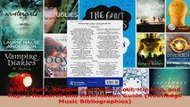 Read  Blues Funk Rhythm and Blues Soul Hip Hop and Rap A Research and Information Guide PDF Online