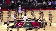 Cavaliers Invade Raptors Dance Team | Cavaliers vs Raptors | November 25, 2015 | NBA 2015-16 Season
