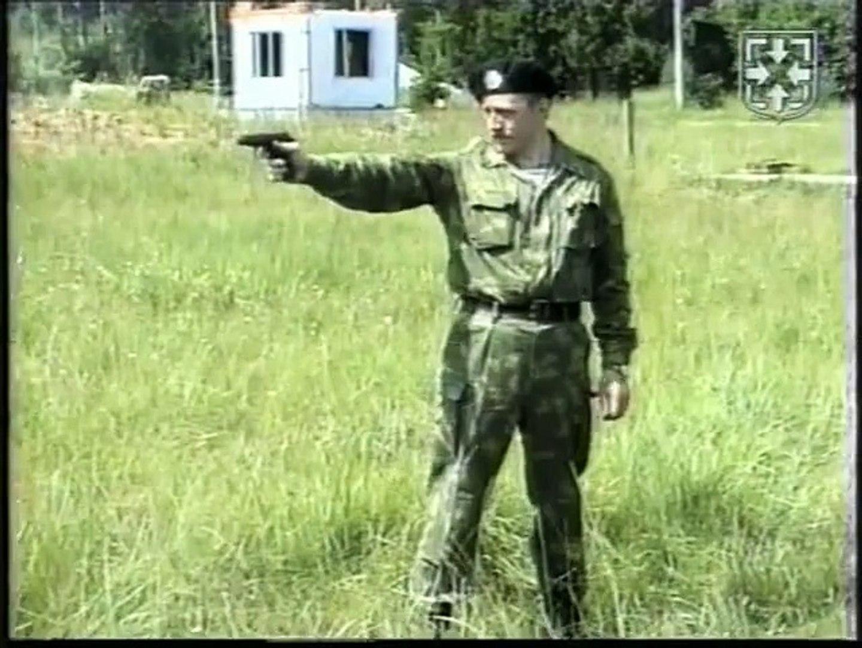 Скоростная стрельба из пистолета с переносом огня по фронту ПМ.