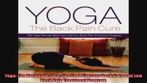 Yoga The Back Pain Cure The Yoga Therapy Back Care and Low Back Pain Treatment Program