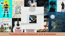 Transformative Research and Evaluation PDF