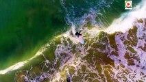 Surfing dans le Morbihan avec Némo par HD drone - Paris Bretagne Télé