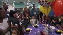 Woman Throws Birthday Parties for Unfortunate Children