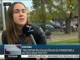 España: pese a las políticas de austeridad,  el PP aventaja en sondeos