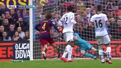 Обзор матча · Барселона (Барселона) - Депортиво (Ла-Корунья) - 2:2