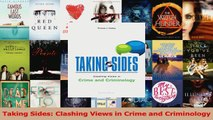 PDF Download  Taking Sides Clashing Views in Crime and Criminology Read Full Ebook