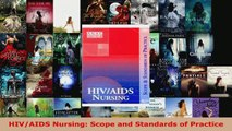 Download  HIVAIDS Nursing Scope and Standards of Practice PDF Free