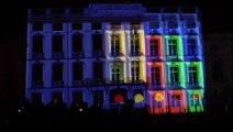 MÂCON-INFOS : mapping féérique sur la façade de la mairie