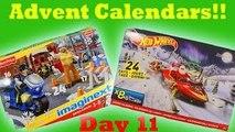 Imaginext Advent Calendar And Hot Wheels Advent Calendar Merry Christmas From