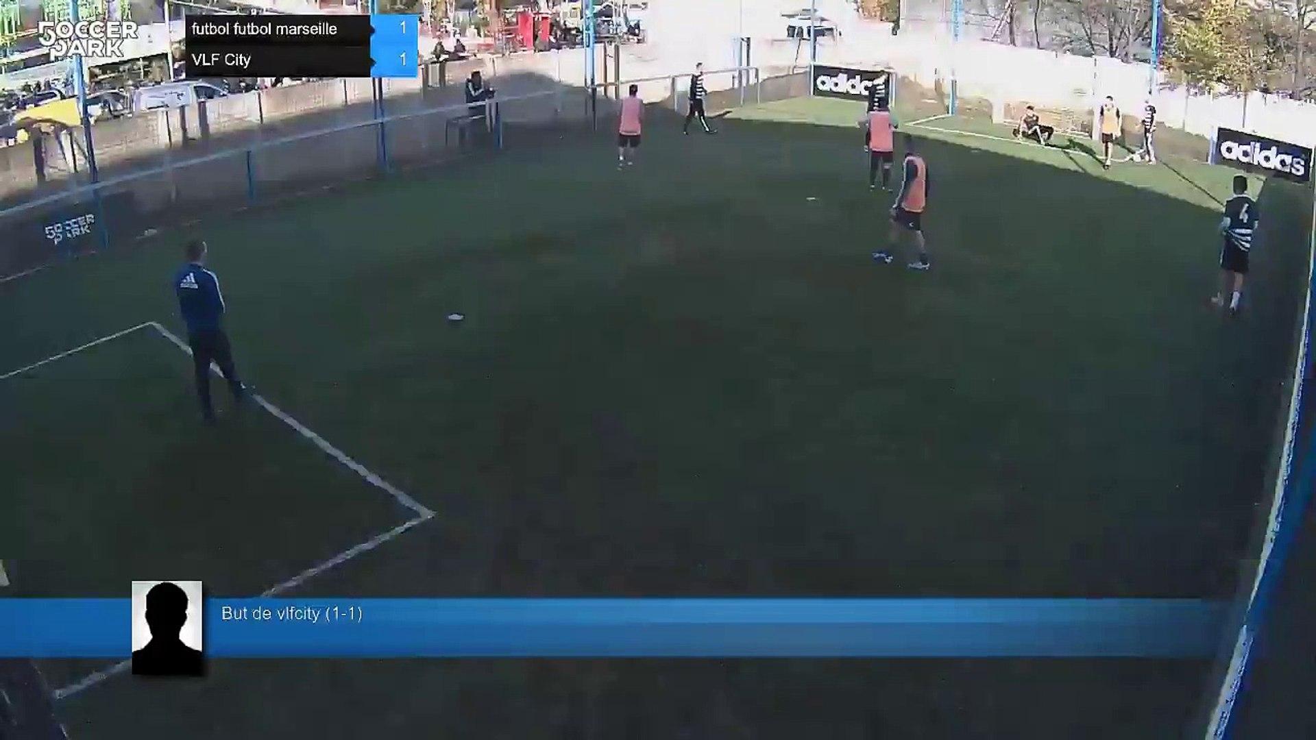 But de vlfcity (1-1) - futbol futbol marseille Vs VLF City - 12/12/15 11:22 - F5WC Finale regionale