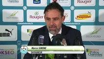 Réactions des entraîneurs après Niort - Tours FC