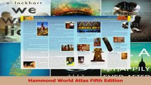 Read  Hammond World Atlas Fifth Edition Ebook Free