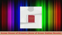 Read  Annes House of Dreams Anne of Green Gables Novels Ebook Online