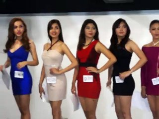 Miss Aviation Philippines 2016 Cocktail Dress Part 1