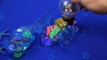 アンパンマンおもちゃアニメ 海底で宝探し オクトノーツの潜水艦 PPCandy Channel Anpanman Toy Anime