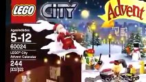 LEGO CITY Advent Calendar & LEGO STAR WARS Advent Calendar DAY 1 - 2013 Set 60024 & 75023